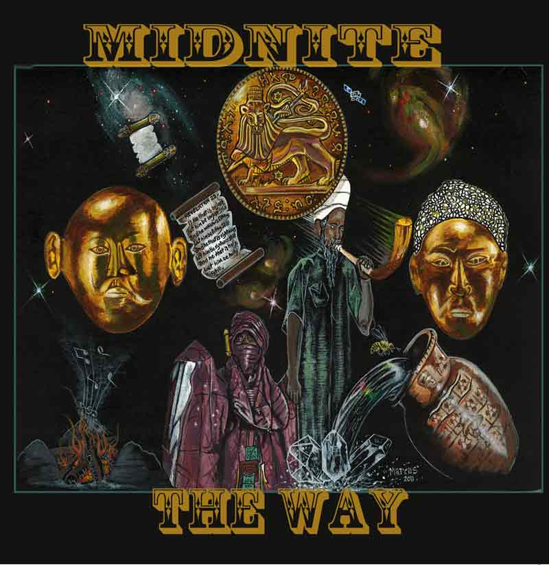 midnite - the way (2011)